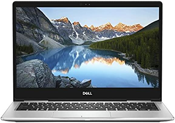 Dell Inspiron 13 7370 33 8 cm  13 3 Zoll FHD  Laptop  Intel Core i5-8250U  8GB RAM  256GB SSD  Intel UHD 620  Windows 10 Home  platin silber