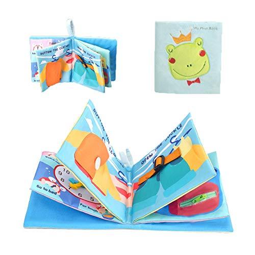 Montessori Busy Board - Tabla educativa sensorial esencial para motricidad fina. Juguete de aprendizaje para niños, para niños de 1 2, 3, 4 y 5 años, para niños y niñas