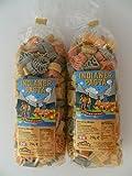 Pfalznudel Streuteile Indianer aus Nudelteig, 2X 250 g, Nudeln, Pasta, Dekoration, Delikatesse