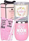 Best Mom Gifts, Best Gifts for Mom, Best Mom Ever Tumbler, Mom Gifts, Birthday Gifts for Mom from Daughter, Son, Kids, Husband, Mother's Day Gifts for Mum
