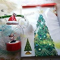 クリスマス ランタン タペストリー