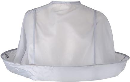 Demiawaking - mantellina pieghevole a ombrello per adulti, avvolge e protegge gli abiti durante il taglio di capelli, per saloni di barbieri e parrucchieri