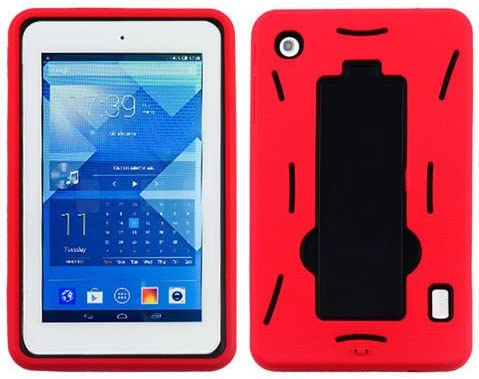 Microseven Rugged SH Impact Armor Kickstand Dual Layer Case Cover for Alcatel OneTouch POP 7 product image