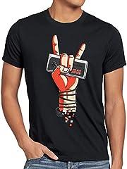 Classic Rock Camiseta para Hombre T-Shirt NES Controller Mando 8-bit Game videoconsola