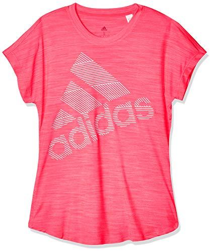 adidas SS Bos Logo Tee T-Shirt, Damen, Rosa, S