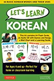 Let's Learn Korean Kit: 64 Basic Korean Words and Their Uses (Flashcards, Audio CD, Games & Songs,...