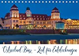 Ostseebad Binz – Zeit für Erholung (Tischkalender 2021 DIN A5 quer)