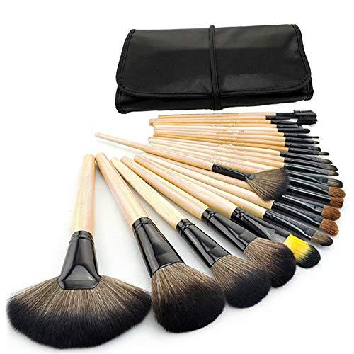Professionelle Make-up Pinsel Set 24 voller Satz von Beauty-Tools Lidschattenpinsel lose Puderpinsel erröten Pinsel Grundierungsbürste, Protokolle