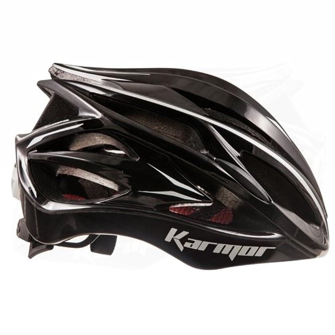 芝生差別的形状Karmar(カーマー) ヘルメット ASMA2(アスマ2) ブラック ヘルメットL R2KA150300X 59-60cm