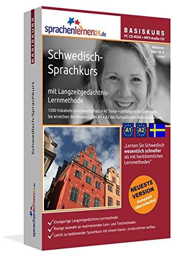 Sprachenlernen24.de Schwedisch-Basis-Sprachkurs: PC CD-ROM für Windows/Linux/Mac OS X + MP3-Audio-CD für MP3-Player. Schwedisch lernen für Anfänger.
