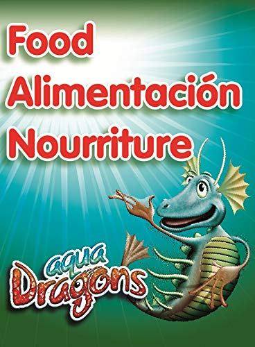 Aqua Dragons- Comida, Multicolor (World Alive SL 02ADFO)