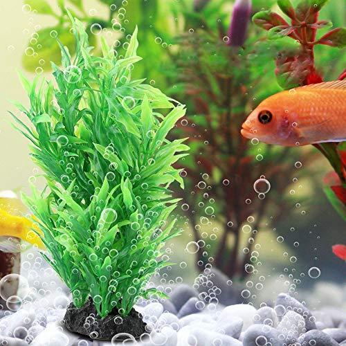 Künstliche Aquariumpflanzen Aquarium Dekoration Wasser Wasser grün Gras Landschaft Ornament Versteck