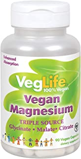 VegLife Vegan Magnesium 400mg | 90 Veg Caps