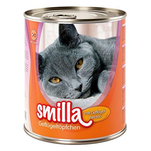 Smilla Tender Geflügel mit Geflügelherzen A Healthy gut ausgewogenes Katzenfutter