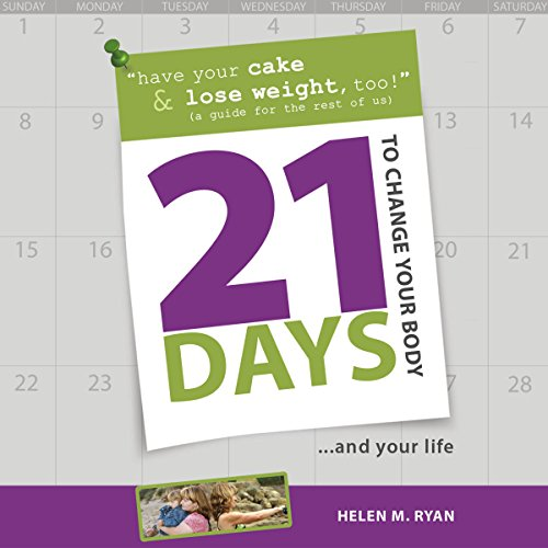21 Days to Change Your Body audiobook cover art