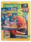National Geographic Kids Sammelmagazin Empire - Póster (9/2020), diseño de monstruos marinos