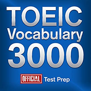 Couverture de Official TOEIC Vocabulary 3000