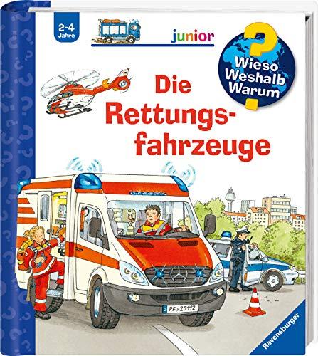 Wieso? Weshalb? Warum? junior: Die Rettungsfahrzeuge (Band 23) (Wieso? Weshalb? Warum? junior, 23)