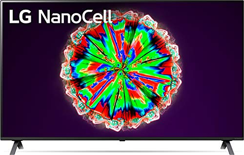 LG 49NANO806NA 123 cm (49 Zoll) NanoCell Fernseher (4K, Triple Tuner (DVB-T2/T,-C,-S2/S), Active HDR, 50 Hz, Smart TV) [Modelljahr 2020]