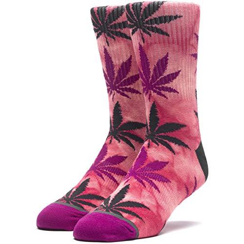 HUF Herren Socken TIE-DYE PLANTLIFE, Größe:ONESIZE, Farben:poppy