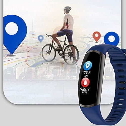 hwbq Reloj inteligente con pantalla táctil con monitor de sueño, contador de pasos, contador de calorías, contador de actividad