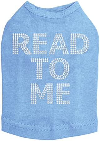 Read to Me Therapy Dog Branded goods Ranking TOP9 Blue XL Shirt