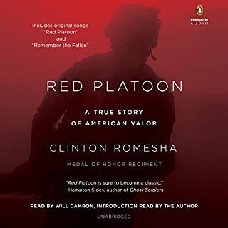 Red Platoon audiobook cover art