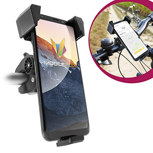 MOBILEFOX fiets smartphone houder stuur houder mountainbike 360 ° draaibaar voor Samsung Galaxy S10 S10+ S10e S9 S8 Plus A10 A20 A50 A70 A80 M20