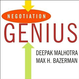 Negotiation Genius audiobook cover art