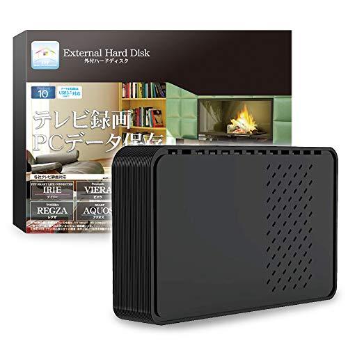FFF SMART LIFE CONNECTED テレビ録画用 外付けHDD 1TB USB3.0 FFF-EX301BK