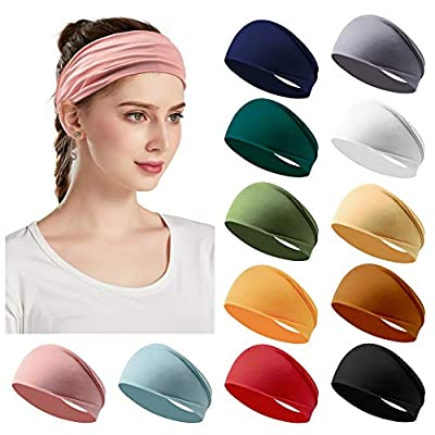 12 Pack Women's Headbands
