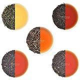 VAHDAM, Oolong Tea Leaves Sampler - 5 TEAS, 25 Servings | OOLONG TEA FOR WEIGHT LOSS | 5 Delicious...