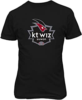 Soft-T KT Wiz South Korea Baseball Mens Custom Design Tee Shirts