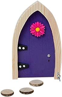 The Irish Fairy Door Company FD554219 Magical, Purple