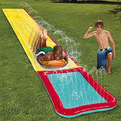 Slip N Slide?480cm Summer Water Slides For Garden Large Slide For Kids Outdoor Outdoor Slip And Slide Water Slide