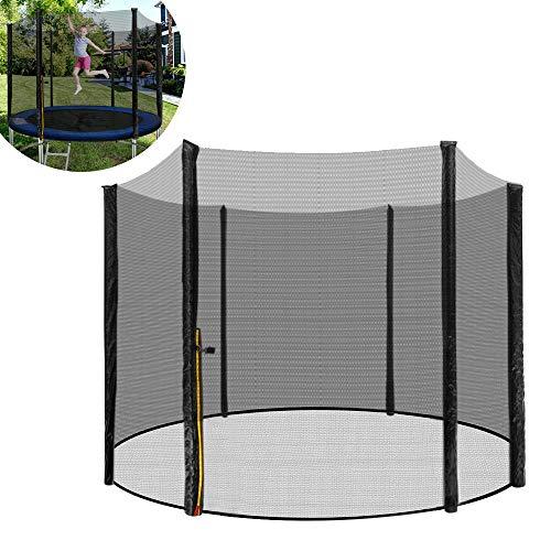 Froadp Ø244cm Filet de Sécurité Universel Filet de Remplacement Résistant aux UV pour Rond Trampoline de Jardin