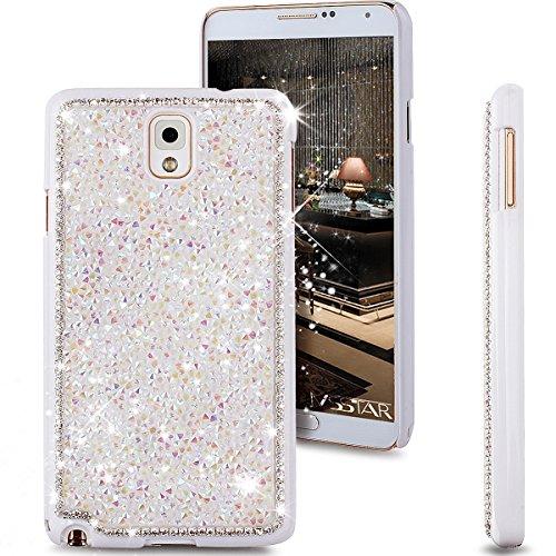 Galaxy Note 4 Case, NSSTAR Beauty Luxury Shiny Sparkle Bling Bling Glitter...