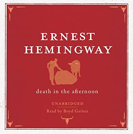 Death in the Afternoon Audio CD