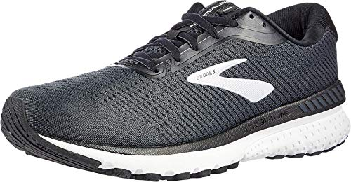 Brooks Mens Adrenaline GTS 20 Running Shoe - Black/Grey/Ebony - 2E - 12.5