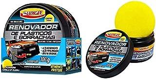 Kit Com 2 Renovador De Plásticos E Borrachas Luxcar 100g