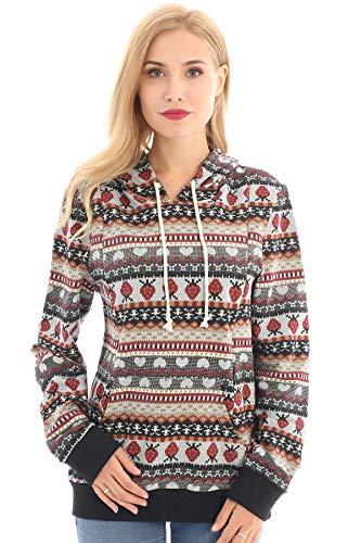 Product Image of the Bearsland Women's Maternity Sporty Hoodie Breastfeeding Shirt Nursing Sweatshirt...