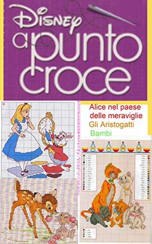 Disney - Schemi a punto croce: Alice nel paese delle meraviglie -...