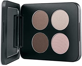 Youngblood Mineral Cosmetics Natural Pressed Mineral Quad Eyeshadow - Shanghai Nights - 4 g / 14 oz