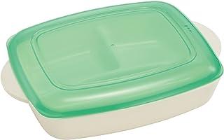 スケーター おうちで食べる 弁当箱 トレー プレート 24.5×17.4×6.4cm シニア ベーシック 日本製 LHM1