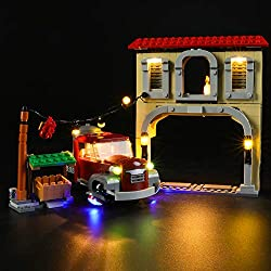 USAGE: The Light Set is used to light up Overwatch Dorado Showdown (NOT include the Lego Set). PORDUCT FEATURE: The Light is made use of original material purely handmade. It contains 2 USB Light kit ,Instruction guide, battery box and 1 USB connecto...