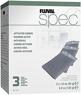 Fluval Spec Medio para filtrar carbón, Paquete de 3
