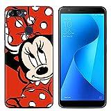 Easbuy Cute Soft TPU Silicium Etui Étui Housse Coque pour ASUS Zenfone Max Plus M1 ZB570TL ASUS Zenfone Pegasus 4S Max Plus...
