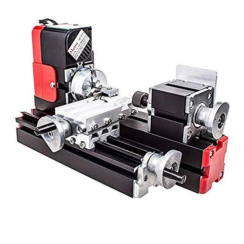 Mini Lathe Machine,12V Miniature Metal Multifunction Lathe Machine DIY 20000Rev/min 45135mm
