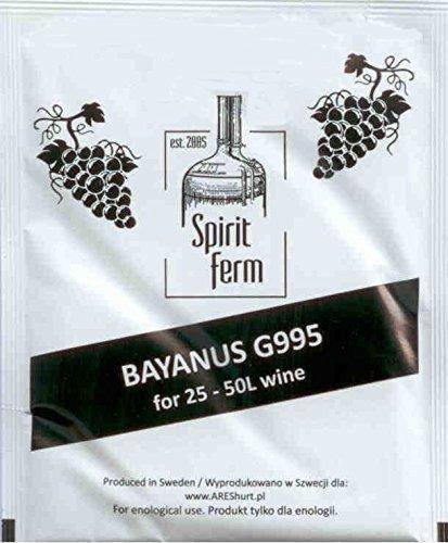 Trockenhefe für 50L - UNIVERSAL für Weißwein und Rotwein   Weinhefe   Bayanus   Wein - Hefe   Reinhefe