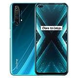 realme X3 12GB + 256GB smartphone Cellulari Telefono, 6,6' realme X3 SuperZoom Snapdragon 855+ Android, fotocamera quad da 64 MP, NFC, Versione EU (Blue)